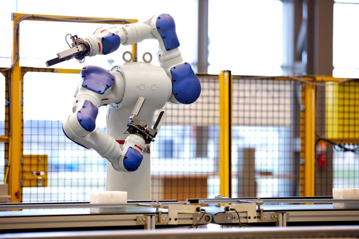 Industrial Robots Training Center Prepares Alabama Workers For High