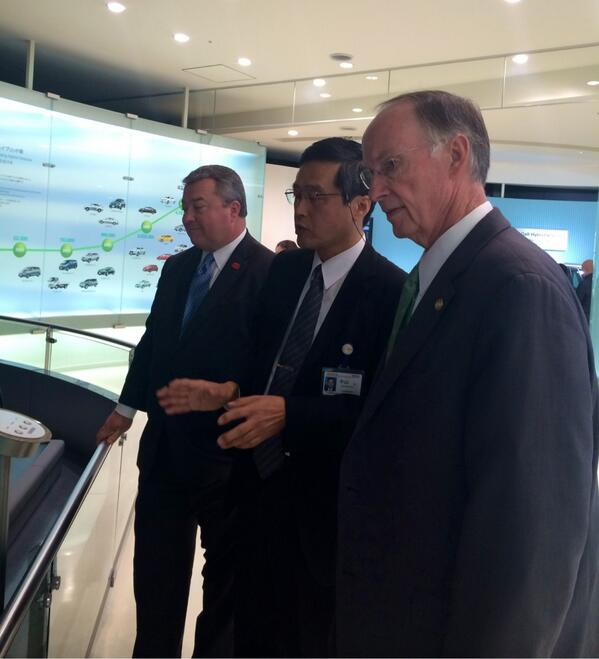 Alabama Team Meets With Top Toyota Executives On Japan