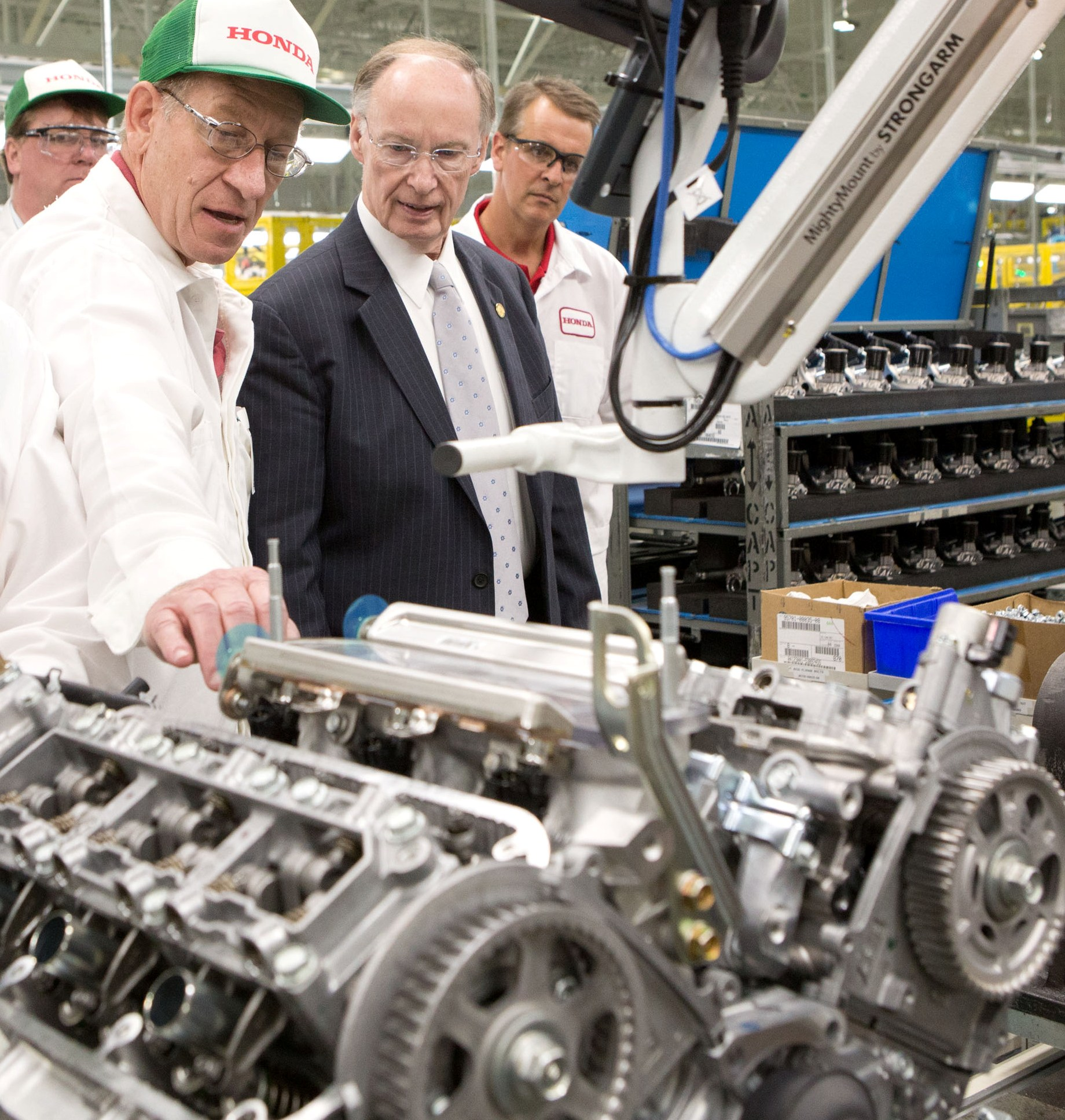 Honda Launches New Automated Engine Assembly Line In