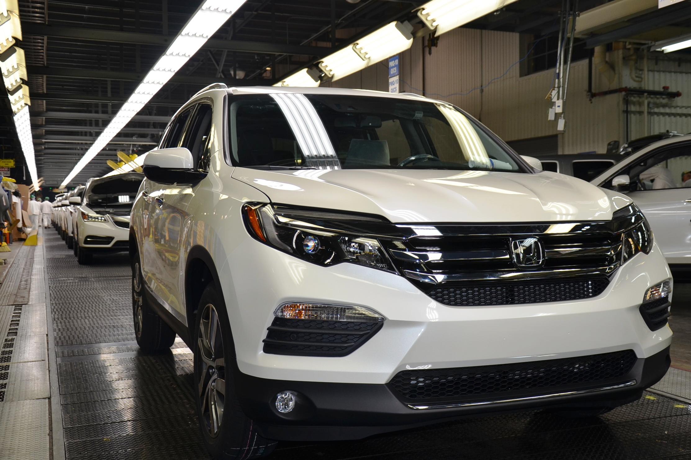 2016 honda pilot joins ranks of new alabama made autos