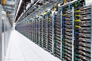 Here's a peek inside Google's data center site in Oklahoma.