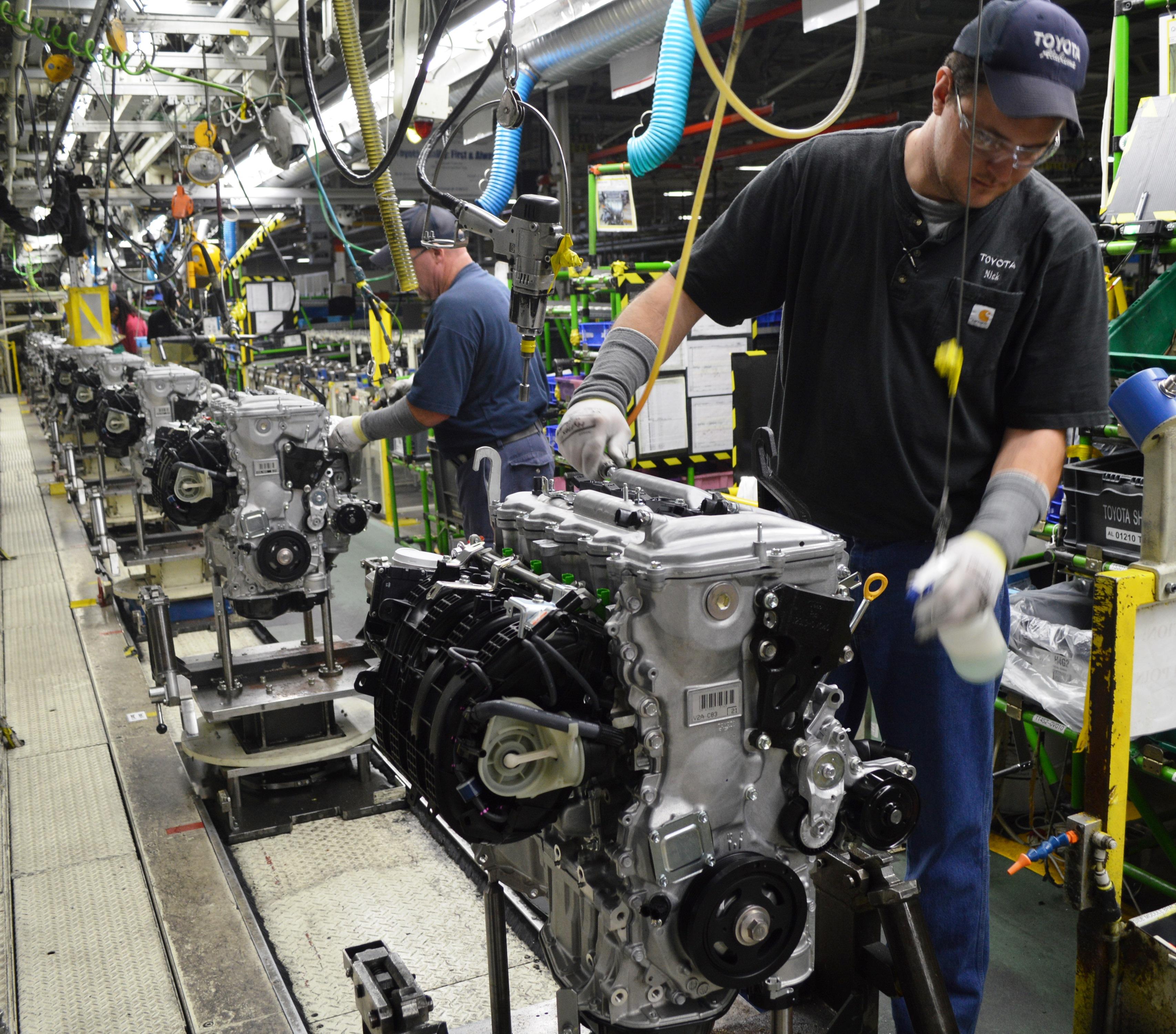 Toyota Alabama 39 Engine Capital Of The World 39 Marks
