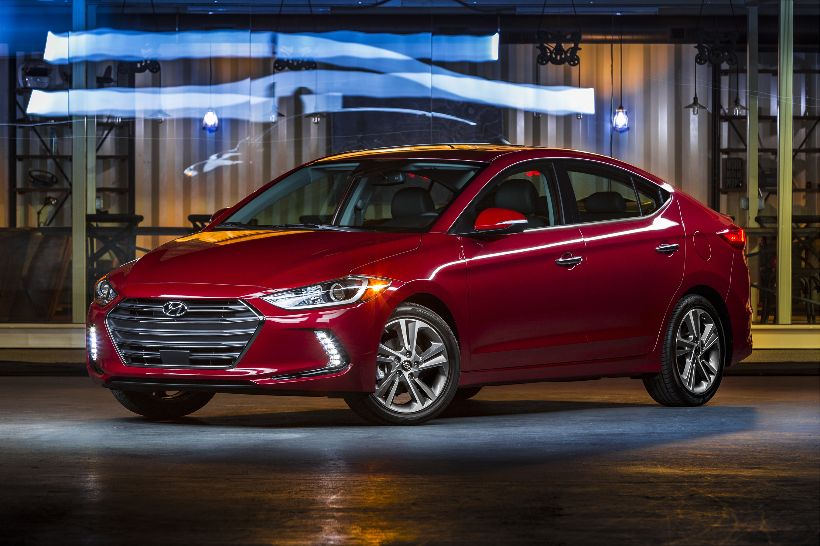 Hyundai To Launch Production Of Redesigned 2017 Elantra In Alabama