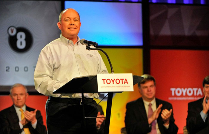 Toyota Alabama Engine Capital Of The World Marks 15