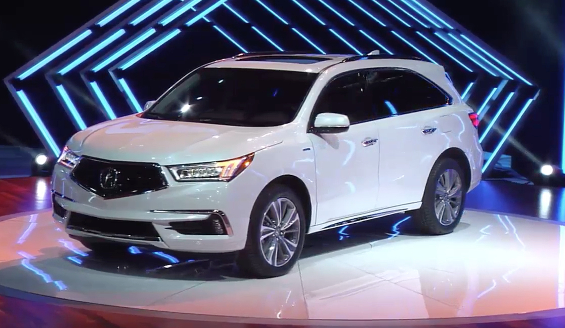 Honda Debuts Redesigned Alabama Made Acura Mdx In Department Of Commerce