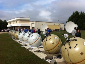 GATR Technologies in Huntsville makes inflatable satellite communications terminals.