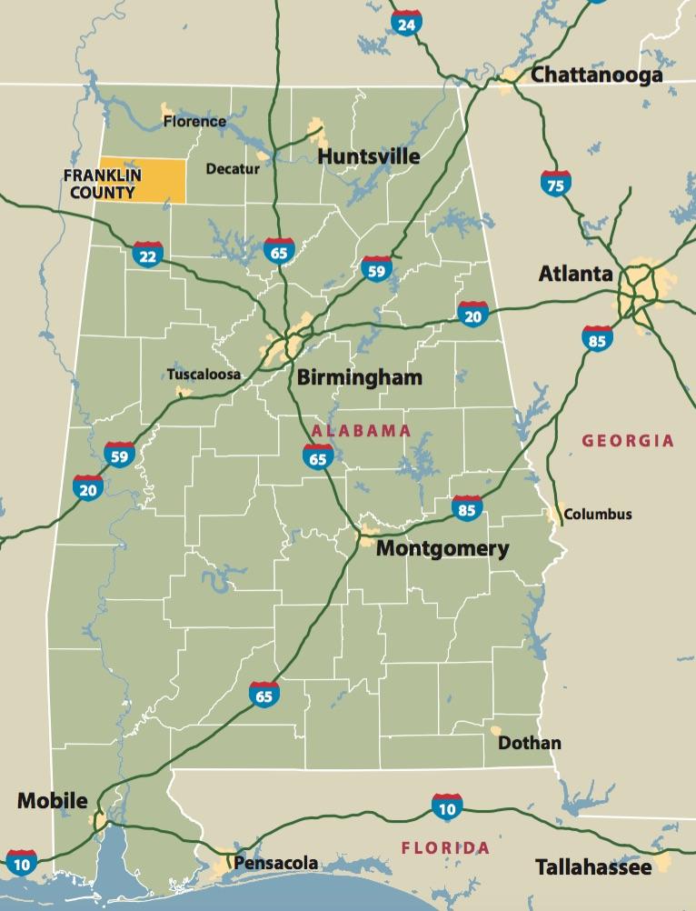Franklin County  Farmers Furniture. Farmers Home Furniture plans  10M Alabama distribution hub   Made