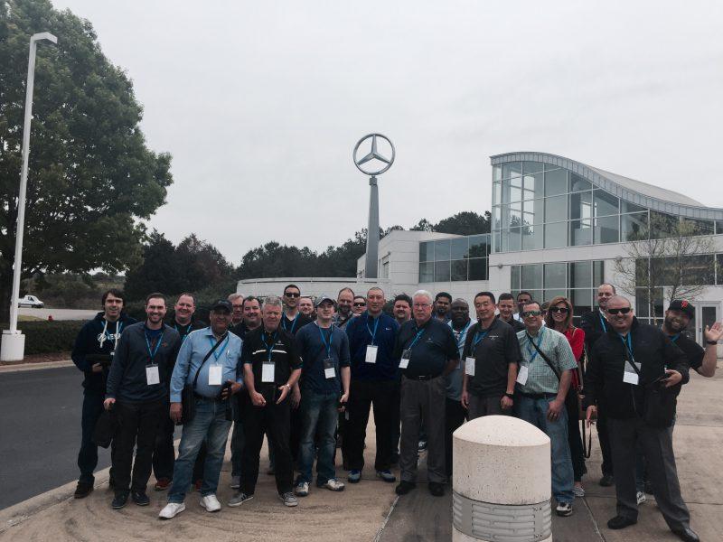 Alabama plant stars in mercedes brand experience for Mercedes benz plant in alabama jobs