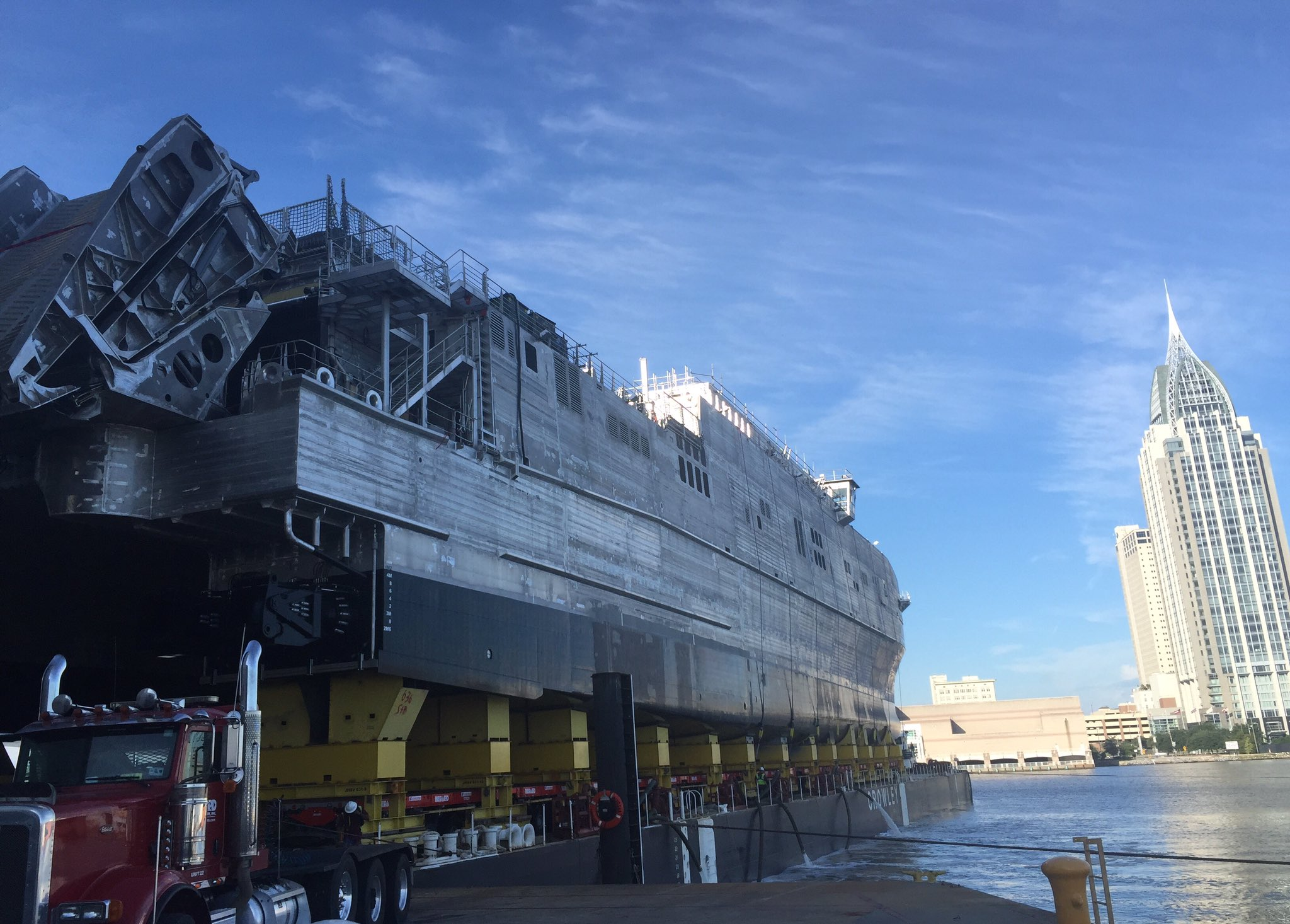 Austal Alabama shipyard to build 2 additional Navy transports   Made