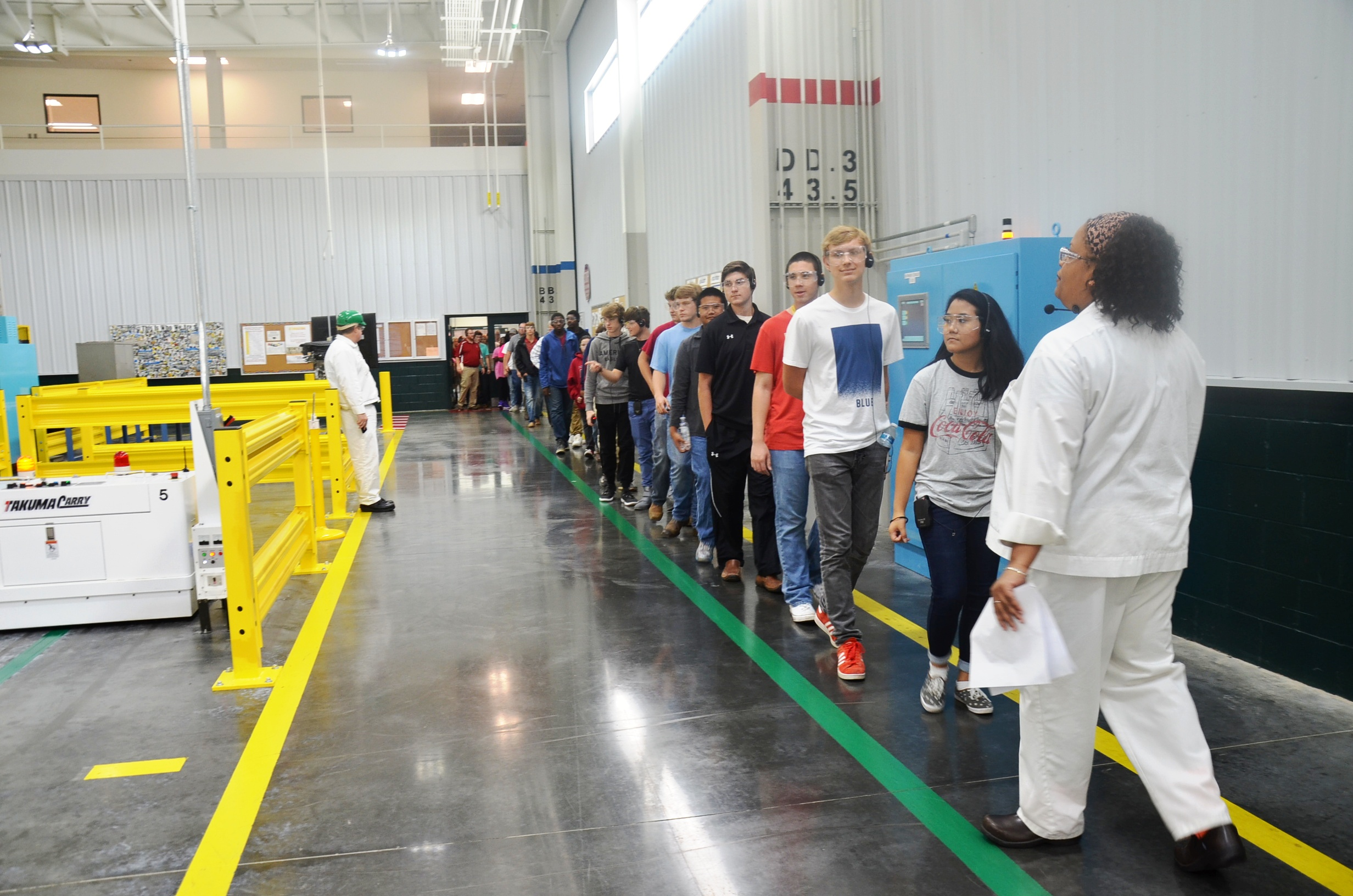 Honda Alabama Hosts Students For National Manufacturing Day