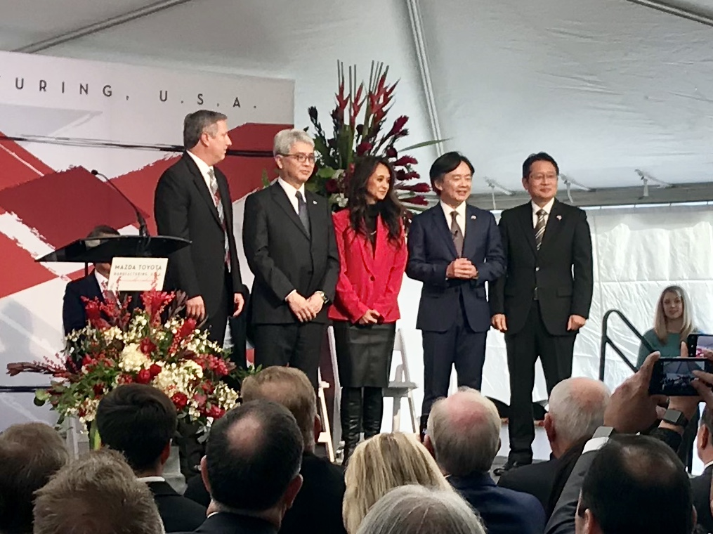 Mazda Toyota Partnership Kicks Off Construction On 1 6b