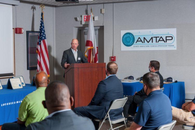 Lockheed Martin apprenticeship program in Courtland preps students for careers
